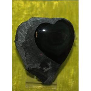 Hart in regenboogobsediaan